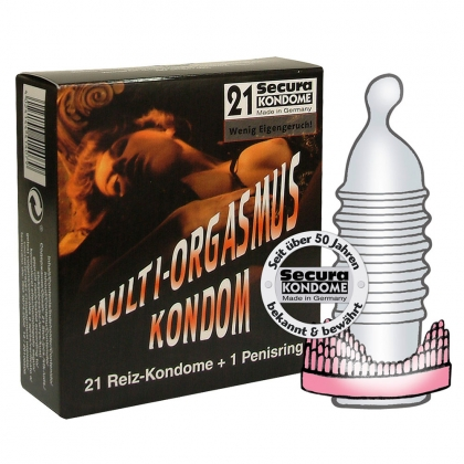 Secura Multi-O.-Kondom 21er