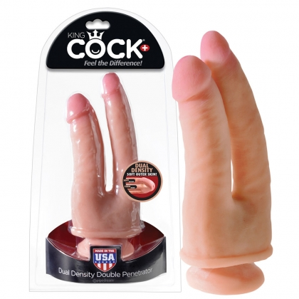 King Cock Double Pen