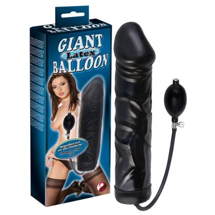 Black Giant Latex Balloon