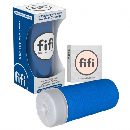 Blue fifi w/5 sleeves