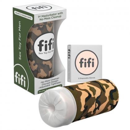 Camo fifi w/5 sleeves