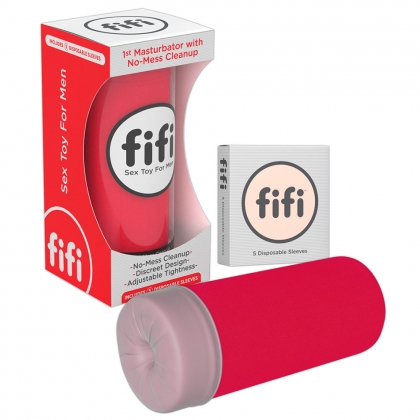 Red fifi w/5 sleeves