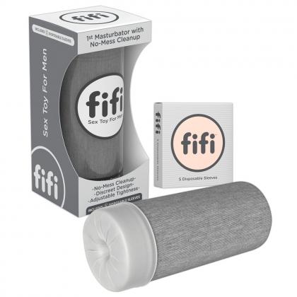 Grey fiif w/5 sleeves