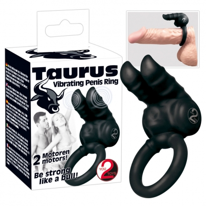 Taurus Vibr. Penisring black