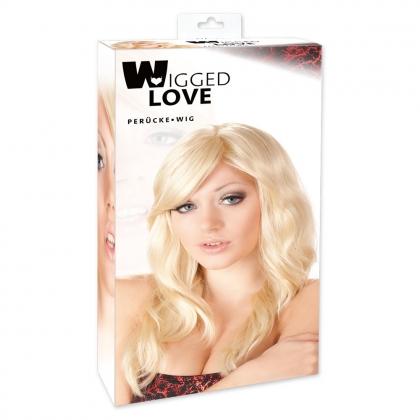 Perücke Britney blond,gewellt