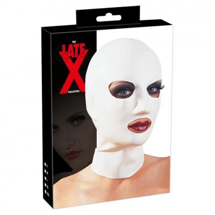 Lx Kopfmaske weiß