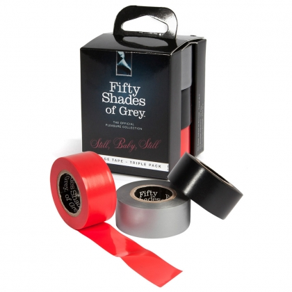 Fifty Shades of Grey Still, Baby, Still Bondage Tape