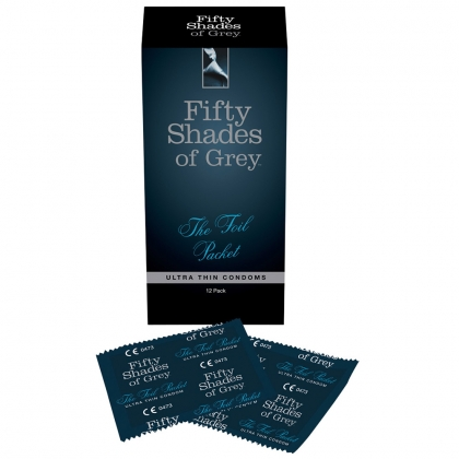 Fifty Shades of Grey The Foil Packet Ultra Thin Condoms