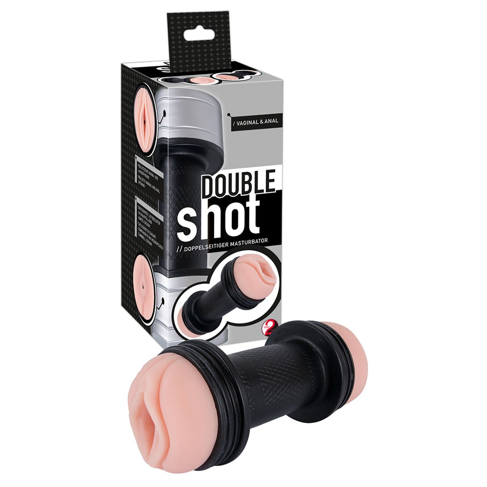 Double Shot Masturbator