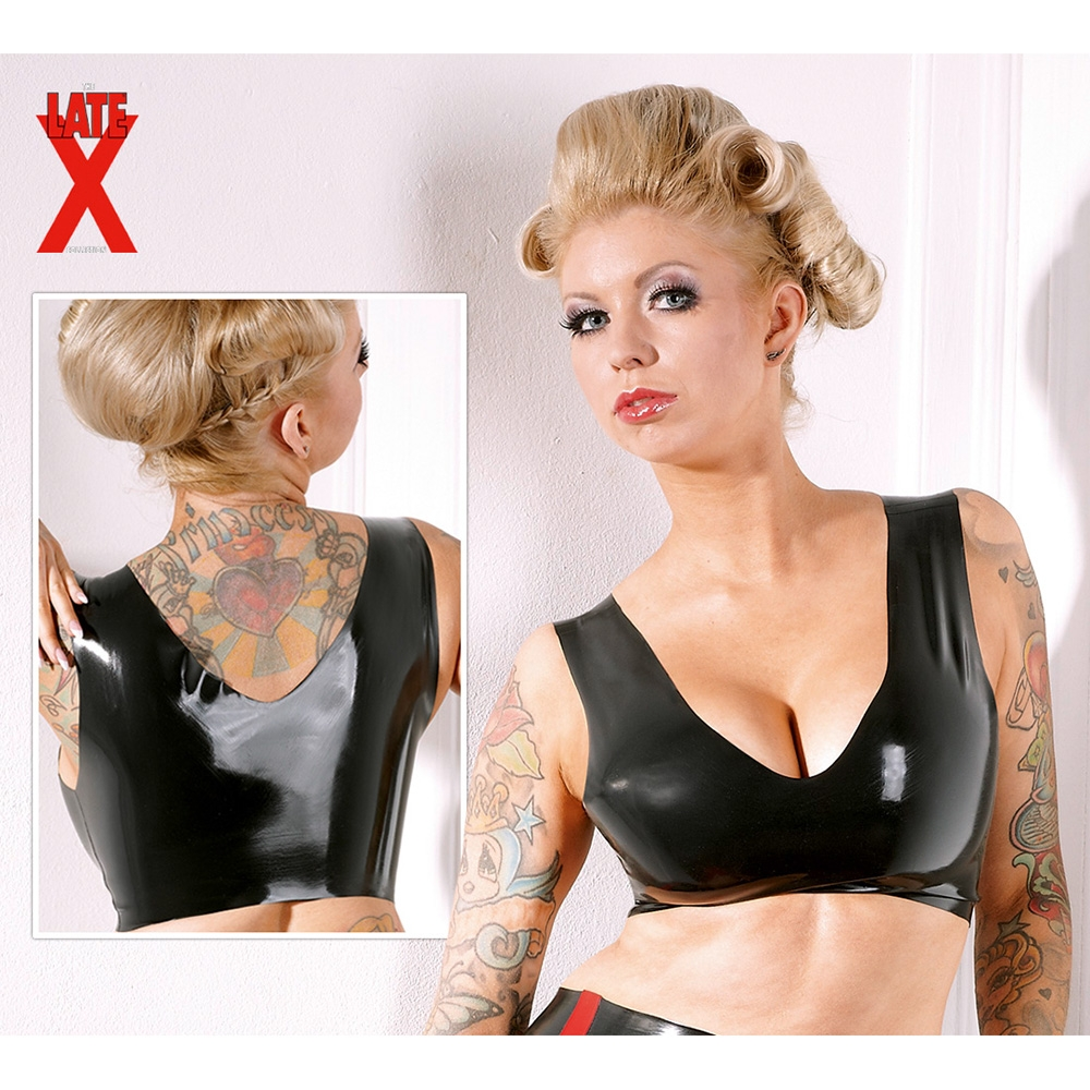 Latex Bustier S/M