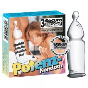 Secura Potenz-Kondom 3er