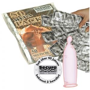 Secura gold/rosé Beutel 50er