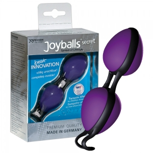 Joyballs secret violett/schw.