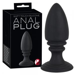 Y2T Black Soft Touch Anal Plug