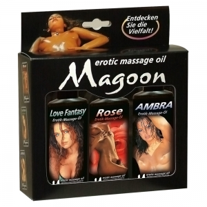 3er Set Massage-Öle 100 ml