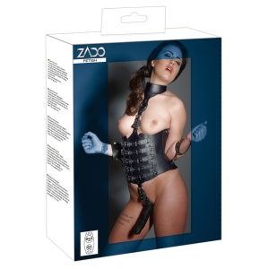 Leder Harness Dildo L/XL