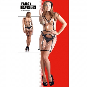Kleid transparent S