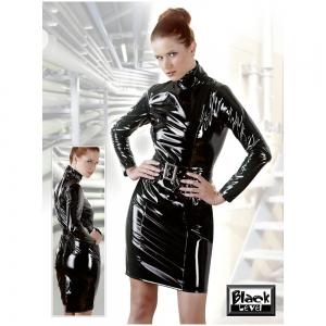 Lack Kleid Gürtel M
