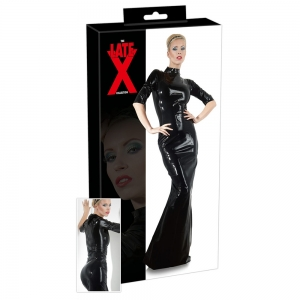 Latex Kleid schwarz S